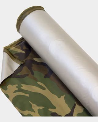 Gear fabric, fire retardant, camo