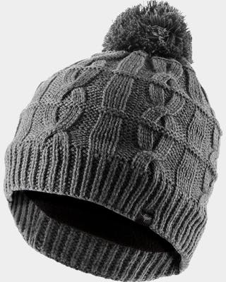 Waterproof Cable Knit Bobble