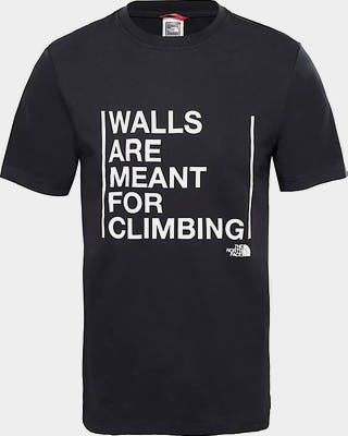 Walls Are for Climbing T-shirt Men's