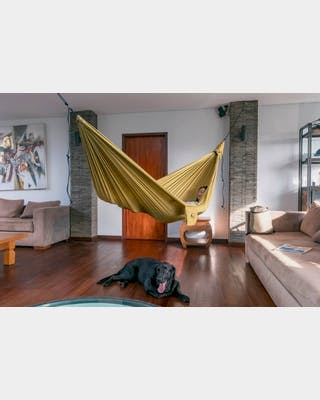 HoneyMoon Hammock Sparkling Gold