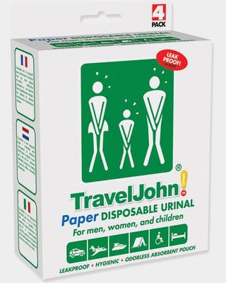 Travel John 4-pack