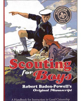 Scouting for Boys manuscript